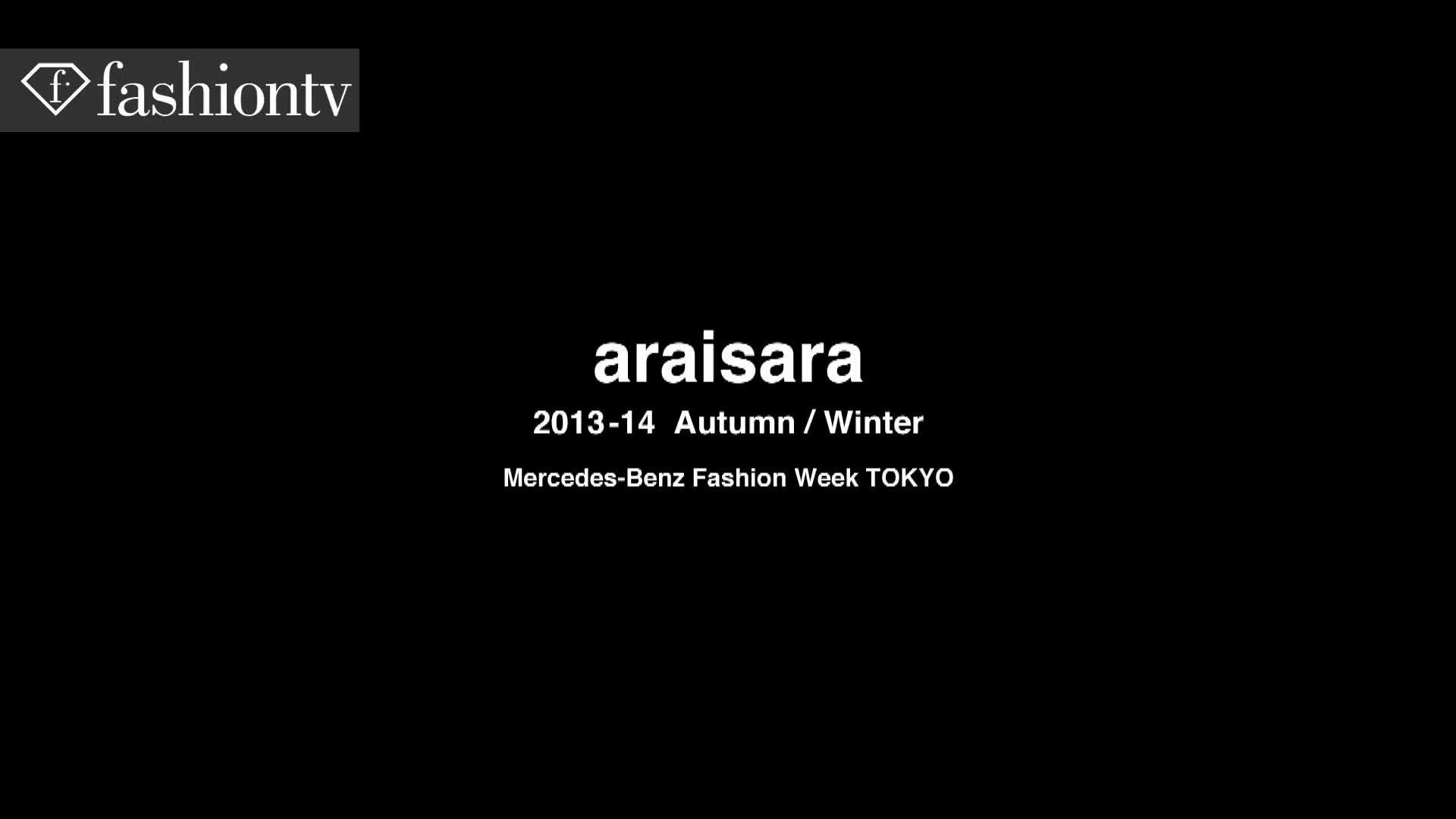 Tokyo Moda Haftası Araisara Sonbahar Koleksiyonu
