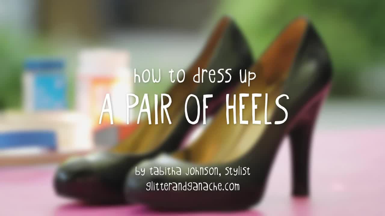 Eski ayakkabınızı baştan yaratın!